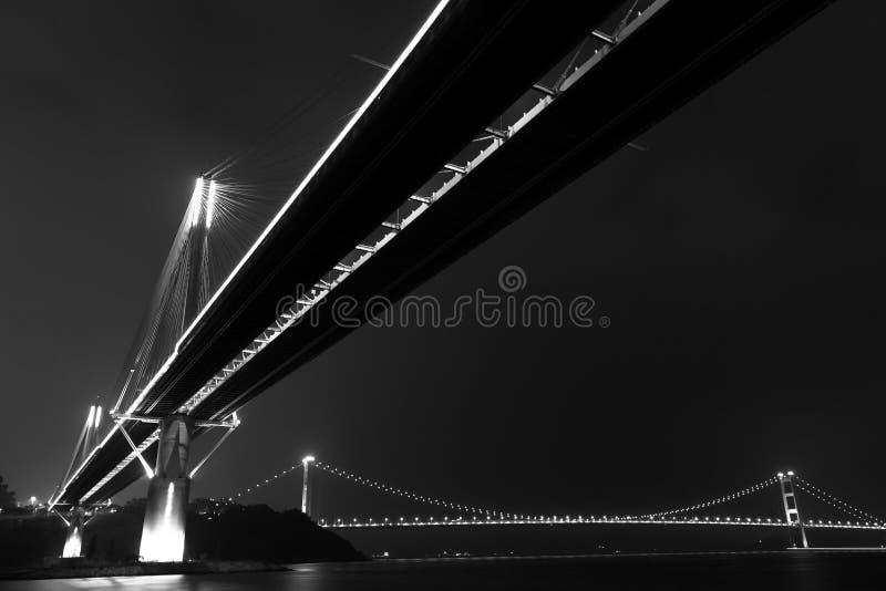 Pontes em Hong Kong fotos de stock