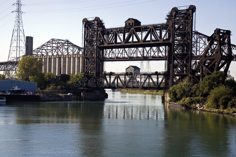 Pontes - lado sul de Chicago fotos de stock