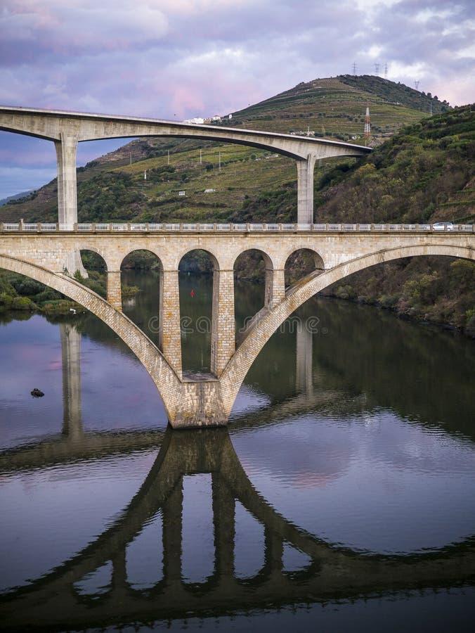 Pontes sobre Douro fotos de stock