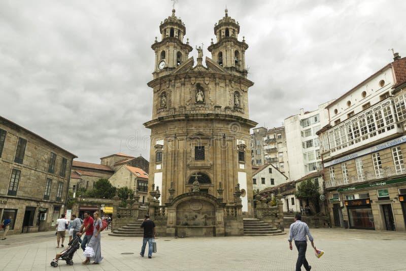 Pontevedra arkivfoton