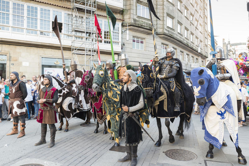 Pontevedra foto de stock