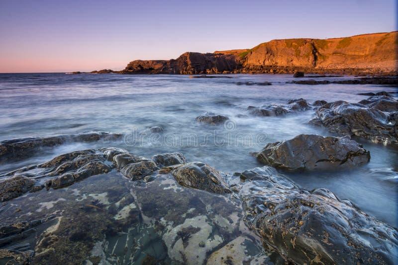 Ponti di Ross, Kilbaha, Irlanda fotografia stock libera da diritti