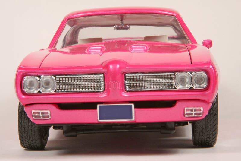 Pontiac 1969 GTO Hot Pink Goat stock photos