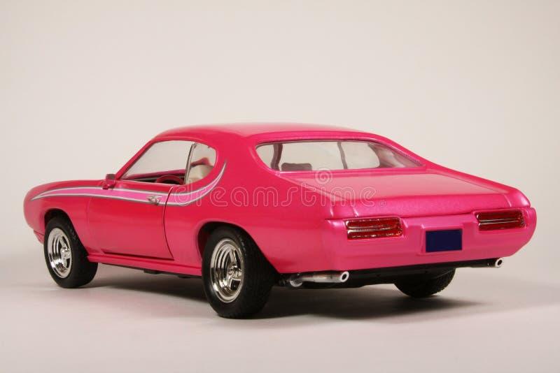 Pontiac 1969 GTO Hot Pink Goat royalty free stock image