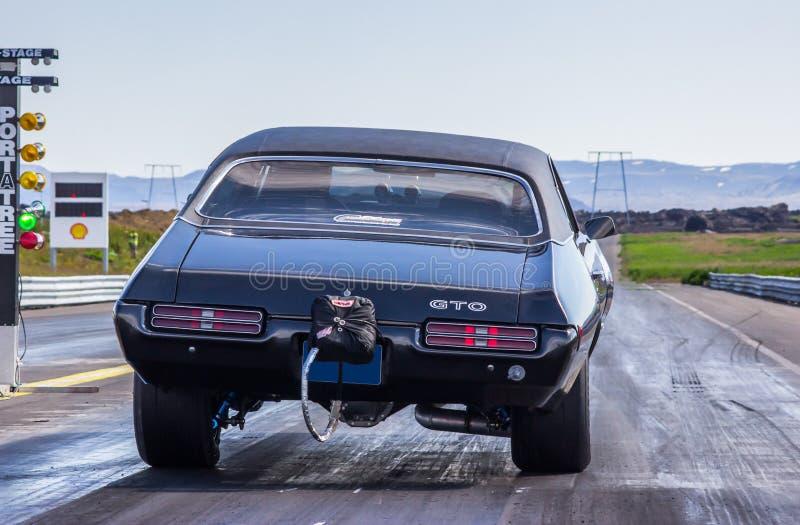 Pontiac burza GTO obraz royalty free