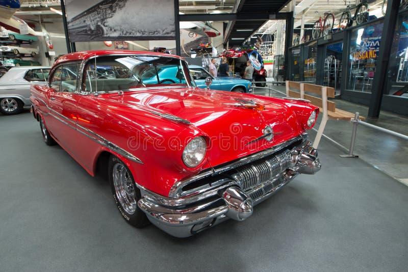 Pontiac Chieftain 1957 fotografia de stock