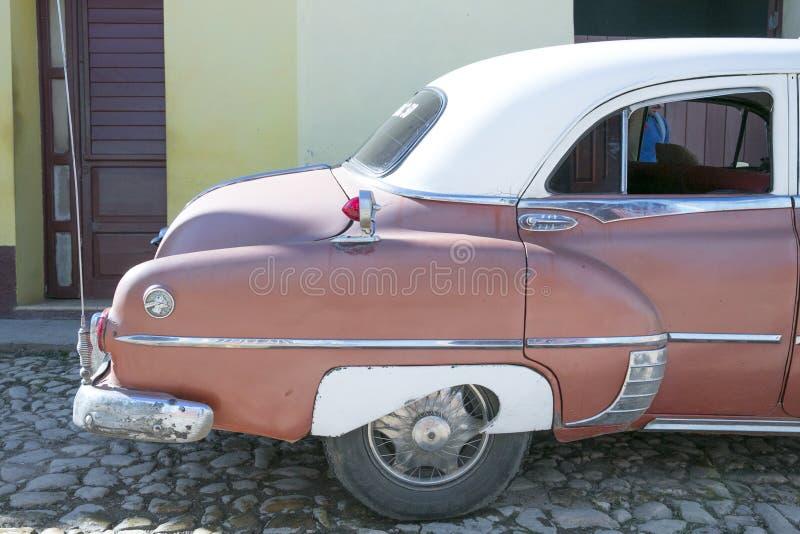 Pontiac Chieftain en Trinidad, Cuba fotos de archivo libres de regalías