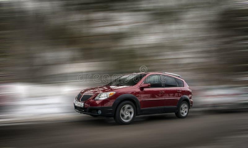 Pontiac czerwieni samochód zdjęcie royalty free