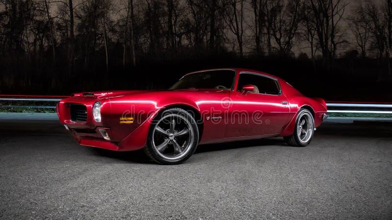 1973 Pontiac Firebird royalty-vrije stock afbeelding