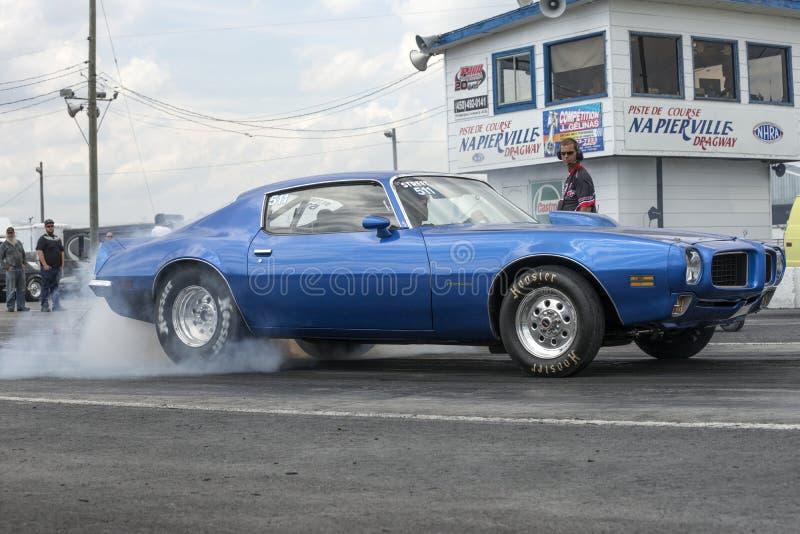 Pontiac firebird stock afbeelding