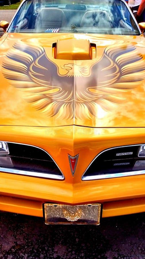 Pontiac Firebird lizenzfreie stockbilder