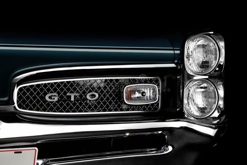 1967 Pontiac GTO fotografia royalty free