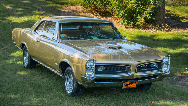 Pontiac 1966 GTO photographie stock