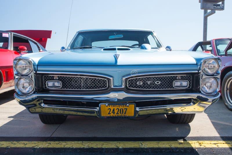 1967 Pontiac GTO obraz royalty free