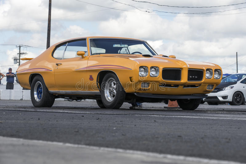 Pontiac gto royalty free stock photos