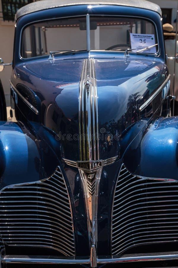 Pontiac-Lastwagen 1940 an der 32. j?hrlichen Neapel-Depot-Oldtimer-Show stockbilder