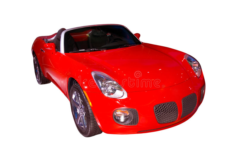 Pontiac Solstice. 2006 Pontiac Solstice. Isolated on a white background stock photography