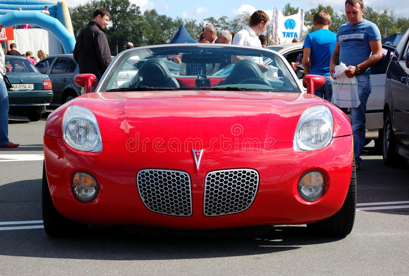 Download Pontiac Solstice At Yearly Automotive-show Editorial Photography - Image: 21237177