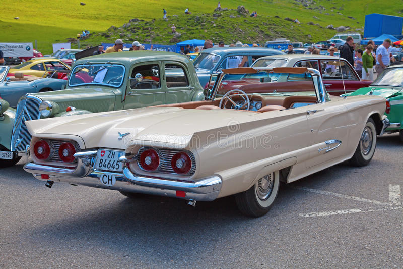 Download Pontiac Thunderbird editorial image. Image of chassis - 20149165