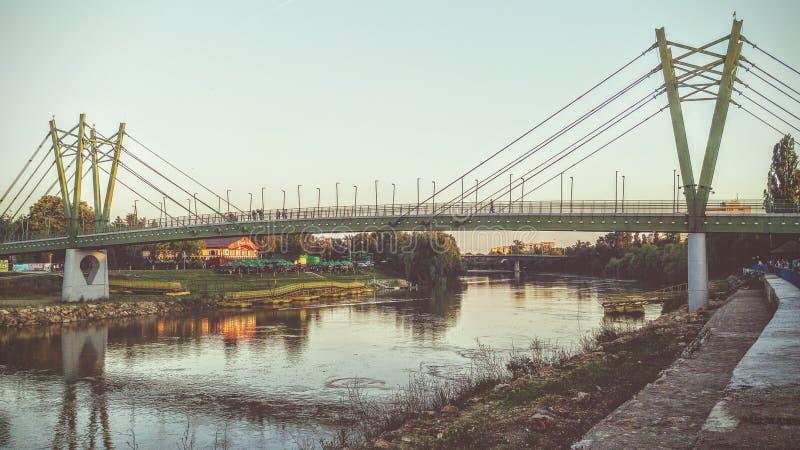 Ponticello in Arad immagini stock libere da diritti