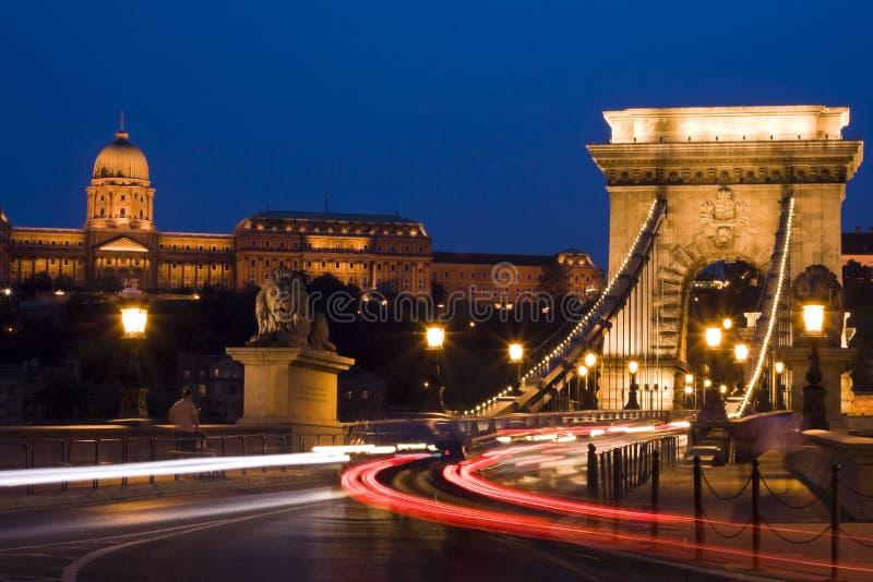 Ponticello a Budapest immagini stock libere da diritti