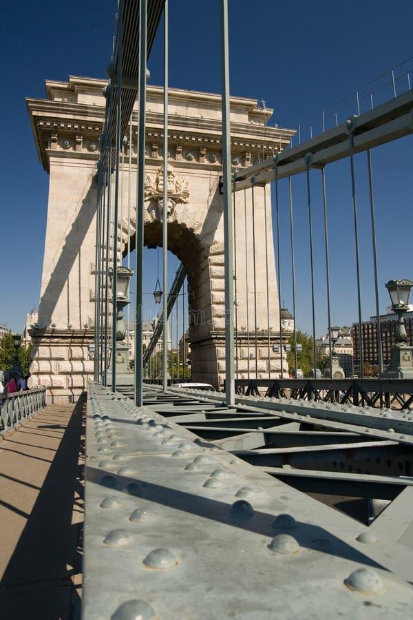 Ponticello Chain a Budapest immagine stock libera da diritti