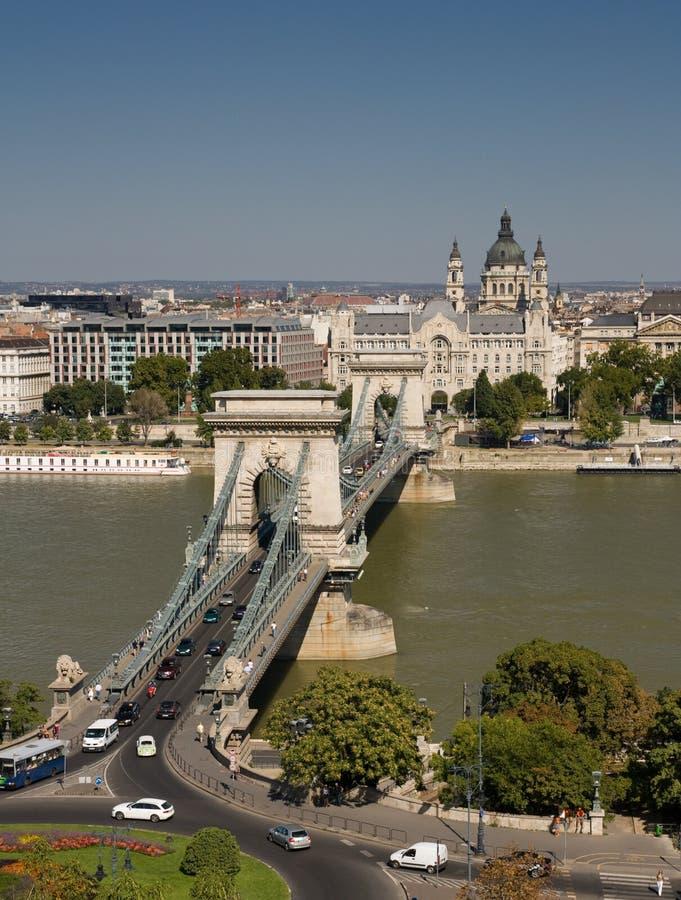Ponticello Chain a Budapest fotografia stock libera da diritti