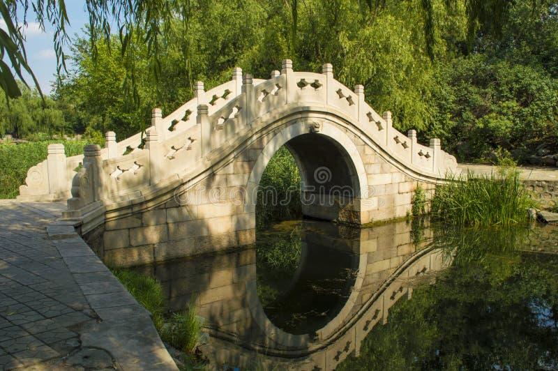 Ponticello cinese dell'arco fotografie stock libere da diritti