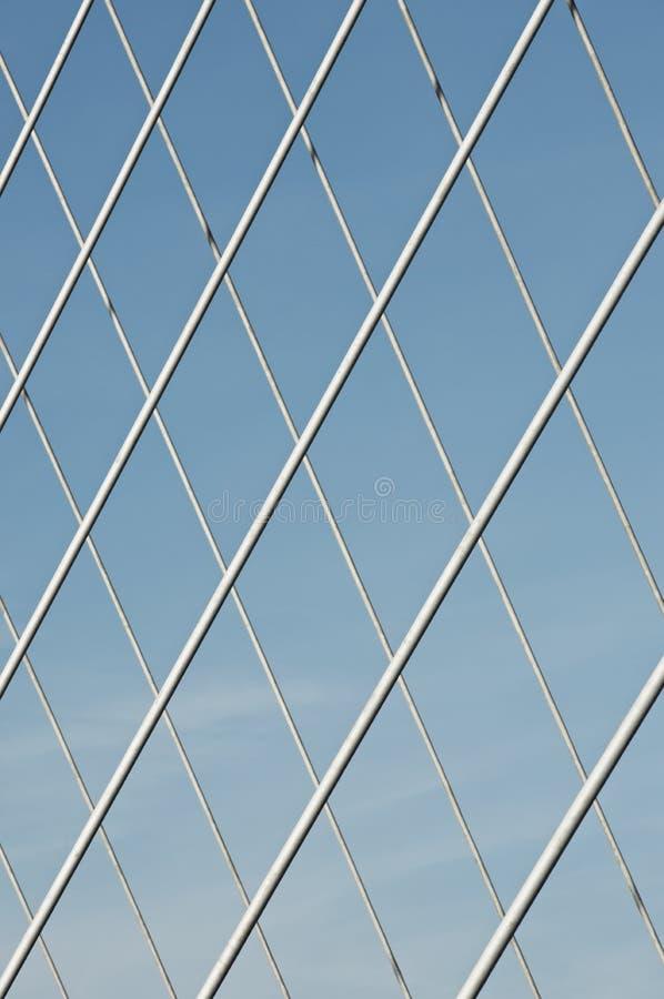 Ponticello concreto moderno fotografia stock
