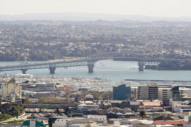 Ponticello del porto di Auckland immagini stock