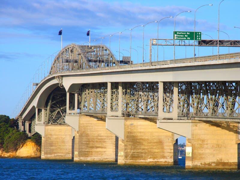 Ponticello del porto di Auckland immagine stock libera da diritti