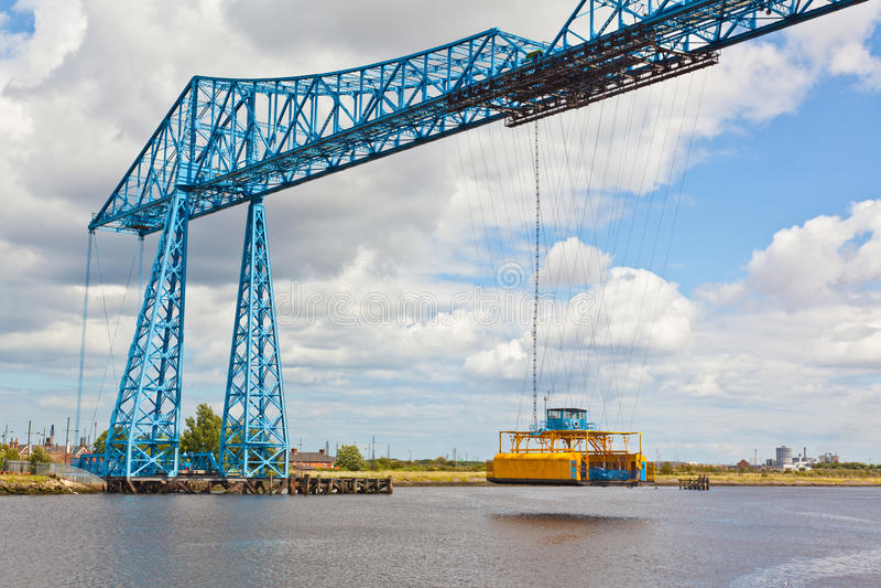 Ponticello del trasportatore di Middlesbrough immagine stock libera da diritti