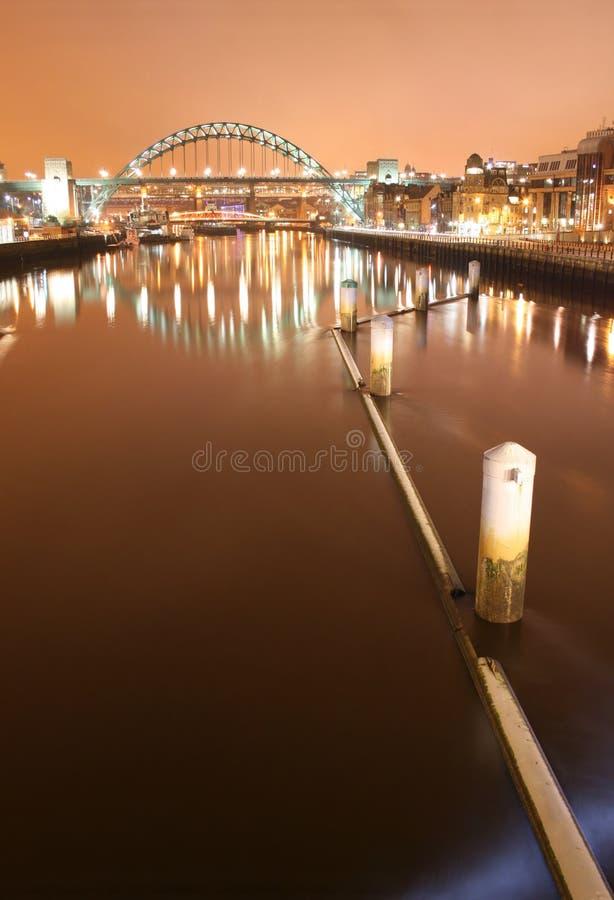 Download Ponticello del Tyne fotografia stock. Immagine di casa - 3882910