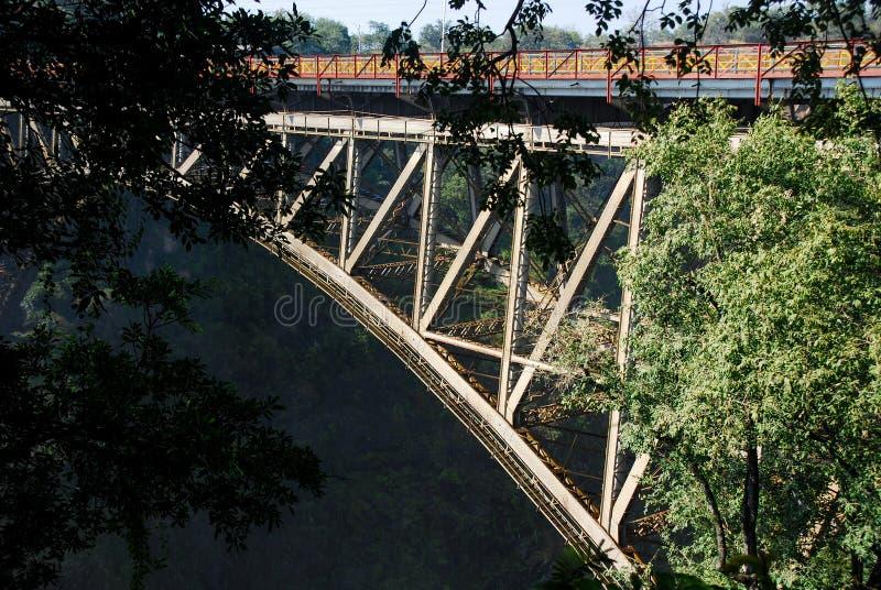 Ponticello del Victoria Falls fotografia stock