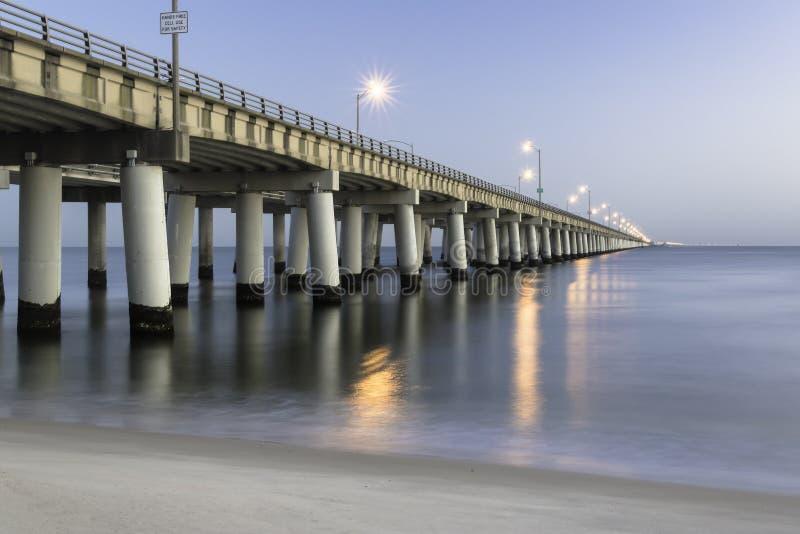 Ponticello della baia di Chesapeake fotografia stock libera da diritti