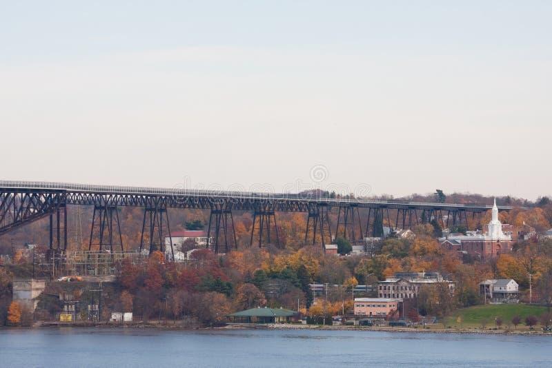 Ponticello della ferrovia di Poughkeepsie fotografia stock