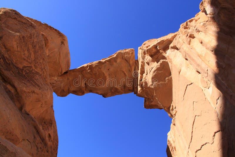 Ponticello della roccia di Burdah fotografie stock libere da diritti