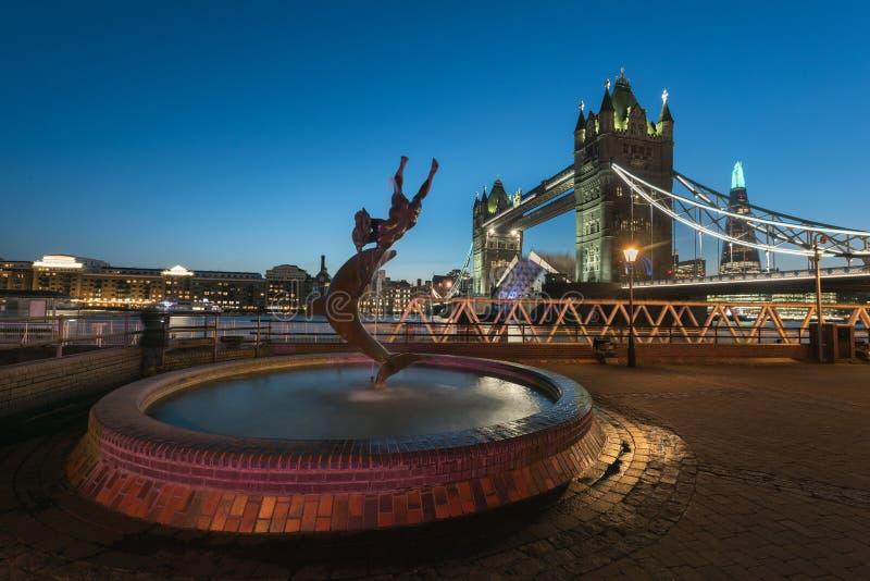 Ponticello della torretta - Londra immagini stock