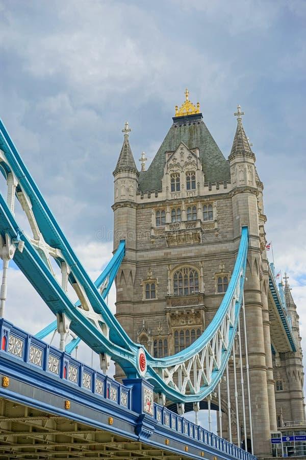 Ponticello della torretta a Londra Inghilterra fotografia stock