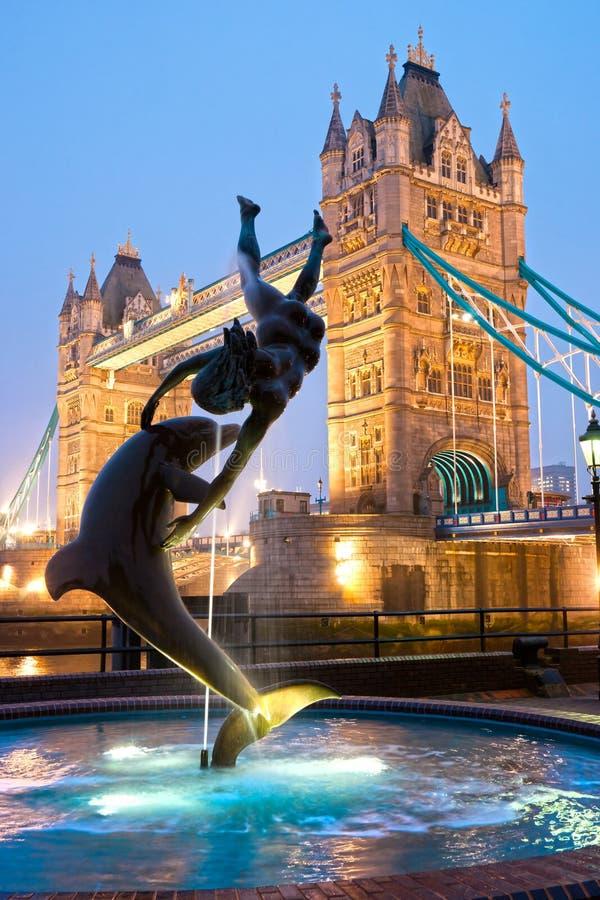 Ponticello della torretta, Londra, Regno Unito immagine stock libera da diritti