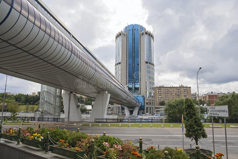 Ponticello di Bagration a Mosca immagine stock