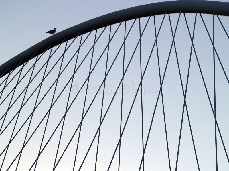 Ponticello di Bilbao fotografie stock libere da diritti