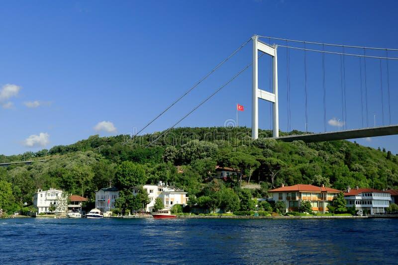 Ponticello di Bosphorus, Costantinopoli fotografia stock