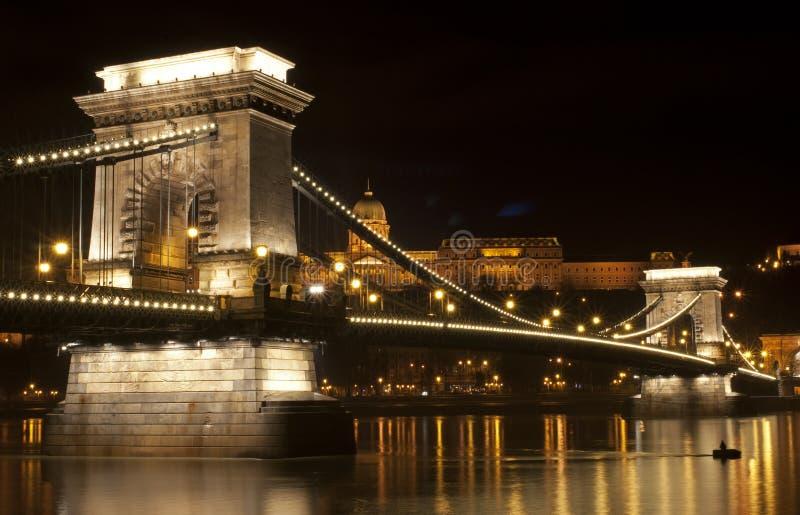 Ponticello di Budapest immagini stock
