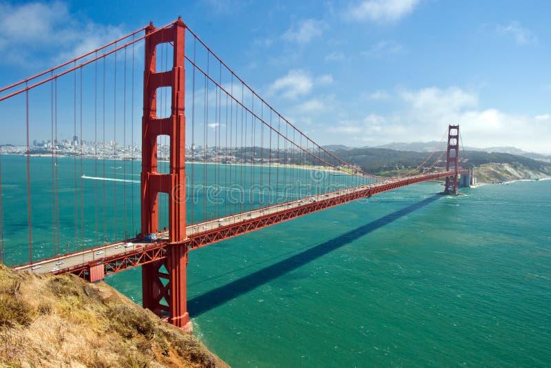 Ponticello Di Cancello Dorato A San Francisco Immagini Stock