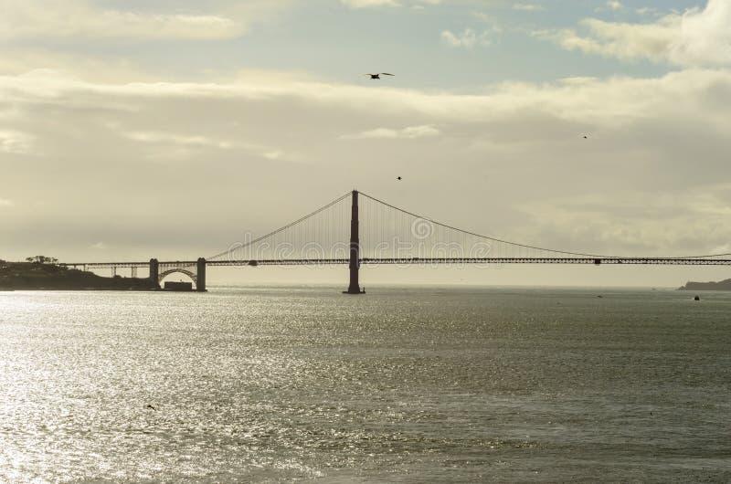 Ponticello di cancello dorato, San Francisco, California immagine stock