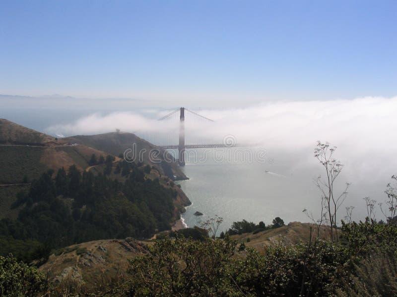 Ponticello di cancello dorato, San Francisco, S immagini stock libere da diritti