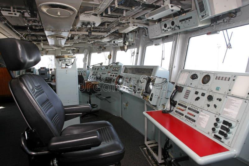 Ponticello di nave moderno immagine stock