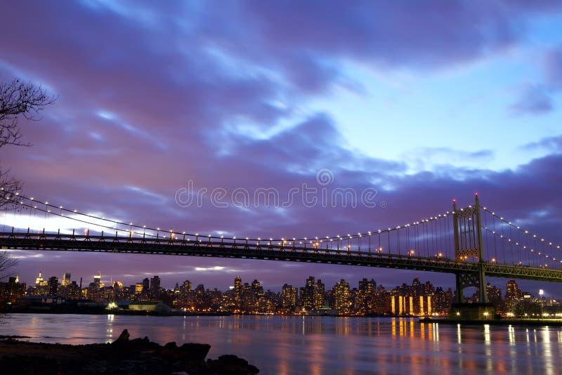Ponticello di New York City Triboro fotografia stock libera da diritti