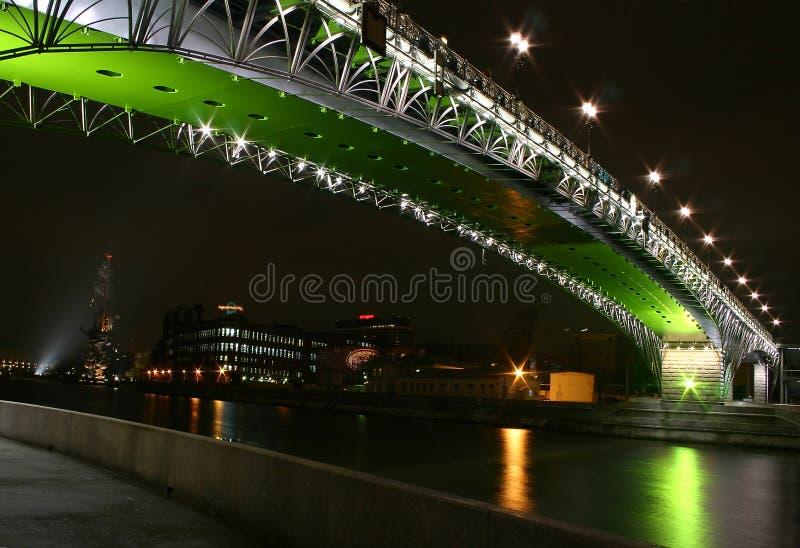 Download Ponticello di notte immagine stock. Immagine di fluviale - 214105